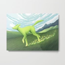 Ever Green Metal Print