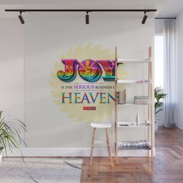 Serious Joy Wall Mural