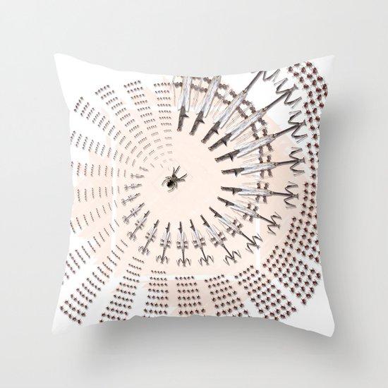 Little Universe Mandala Throw Pillow
