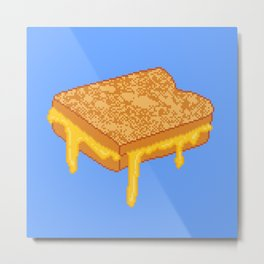 Grilled Cheese Metal Print