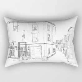 London Colors Rectangular Pillow