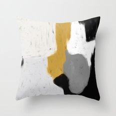 Gris Throw Pillow