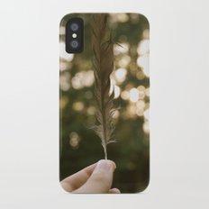 Feather iPhone X Slim Case