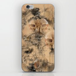 Page 34 From The Book Of The Damned by Andy Walsh iPhone Skin