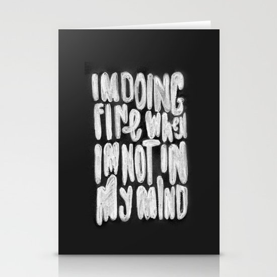 Doing Fine Stationery Cards