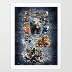 Predators Art Print