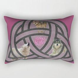 She Wolf Pack Rectangular Pillow