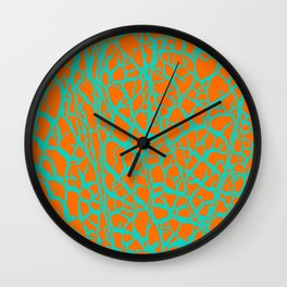 Desert Stream Wall Clock