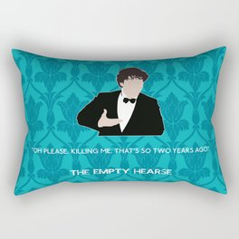 The Empty Hearse - Sherlock Holmes Rectangular Pillow
