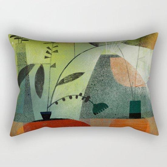 LAYERED VASES Rectangular Pillow