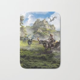 Edinburgh [Horizon Zero Dawn] Bath Mat