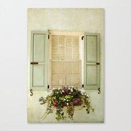 Vintage Windowbox Canvas Print