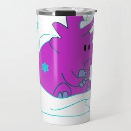 Freezing Triceratops Travel Mug