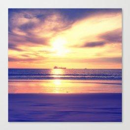 Vanishing Ships Canvas Print