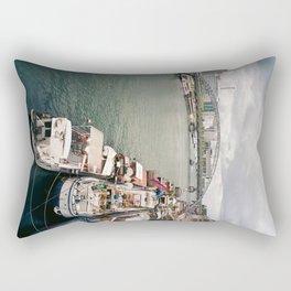 La Seine . Paris Rectangular Pillow