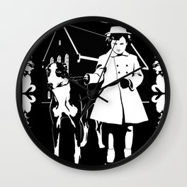 Dependent Personality Disorder (DPD) Wall Clock
