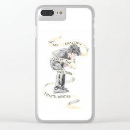 Boulevard of Broken Dreams Clear iPhone Case
