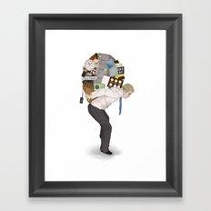 The Weight of Technology #2 Framed Art Print