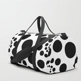 Optical Illusion Dot Spirals Duffle Bag