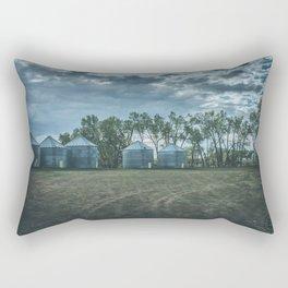 Grain Bins 1 Rectangular Pillow
