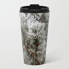 Frosty Pine Tree Travel Mug