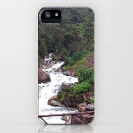 Alpine Bridge Adventure iPhone Case