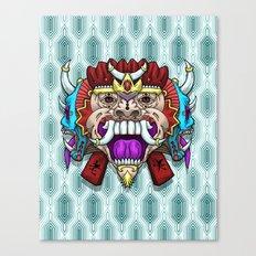 Greed Barong Mask Canvas Print
