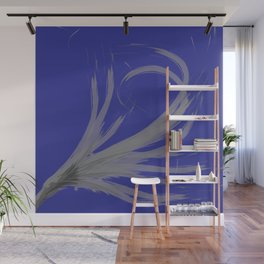 Blue Night Wall Mural