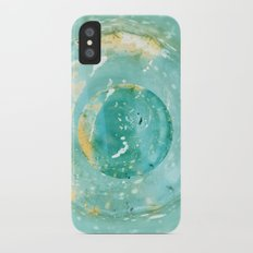 Blue Fantasy Planet Slim Case iPhone X