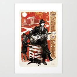 Delta Blues - Robert Johnson & Friends Art Print