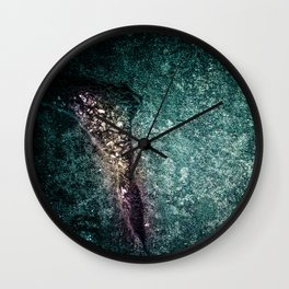 Asphalt Wall Clock