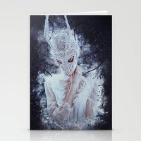 nightmare Stationery Cards featuring Nightmare by Kryseis Retouche