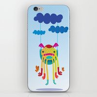 monster iPhone & iPod Skins featuring Monster by Maria Jose Da Luz
