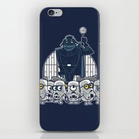 minions iPhone & iPod Skins featuring Stormtrooper Minions by Hugo Martin