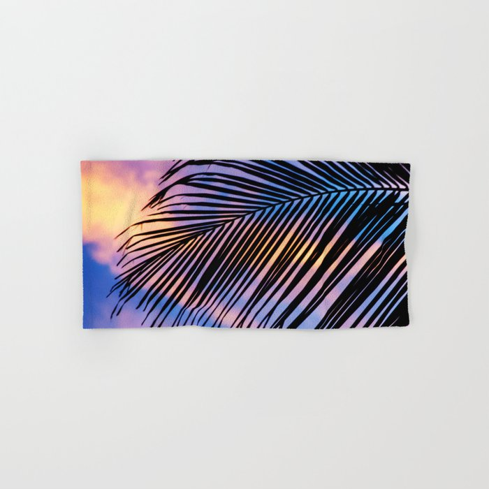 SUNSET PALM Hand & Bath Towel