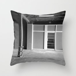 A Study in Carparks Throw Pillow