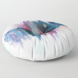 Heartbeat Drama Floor Pillow