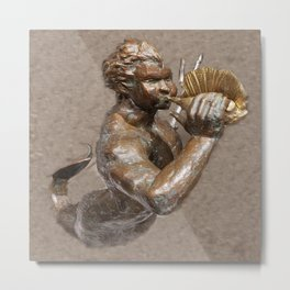 Merman 2 Metal Print