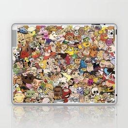 Cartoon Collage Laptop & iPad Skin