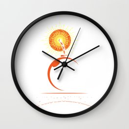 Pyrotechnician Retro Pyro Tec Stage Crew Gifts Wall Clock