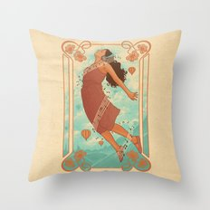 Feel The Music Throw Pillow