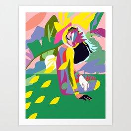 THE TROPICAL LOVER Art Print