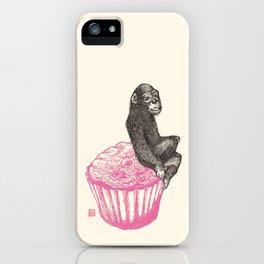 Muffin Monkey iPhone Case