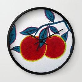 apples Wall Clock