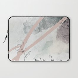 Peace Be Still Abstract Print Laptop Sleeve