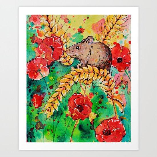 Field Mouse Art Print