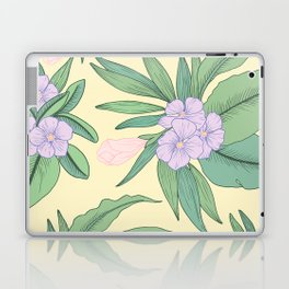 Jungle Daydream Purple Floral Print Laptop & iPad Skin