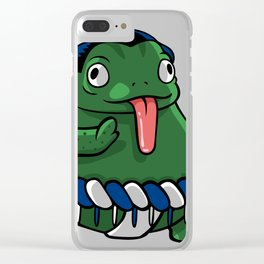 Sumo frog Clear iPhone Case