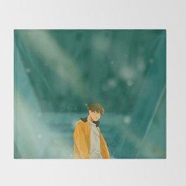 Euphoria Jungkook Throw Blanket