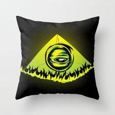 Mind's Eye Throw Pillow